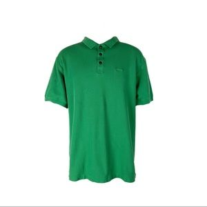 Patagonia Polo Cotton Kelly Green Short Sleeve